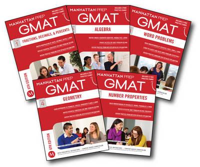 GMAT Quantitative Strategy Guide Set - Manhattan Prep GMAT Strategy Guides (Paperback)