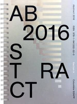 Abstract 2016 - Abstract (Paperback)