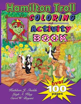 Hamilton Troll Coloring & Activity Book (Paperback)