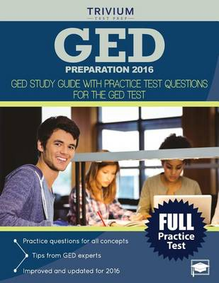 GED Preparation 2016: GED Study Guide with Practice Test Questions for the GED Test (Paperback)