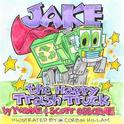 Jake the Happy Trash Truck (Paperback)