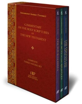 Commentary on the Holy Scriptures of the New Testament: Complete Three Volume Set - Commentary on the Holy Scriptures of the New Testament (Hardback)