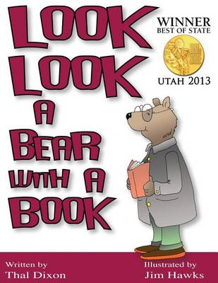 Look Look a Bear with a Book (Paperback)