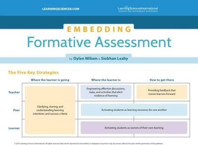 Embedding Formative Assessment Quick Reference Guide