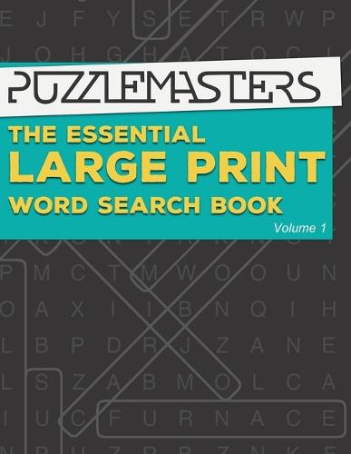 The Essential Large Print Word Search Book: 50 Fun Themed Word Search Puzzles for Adults and Kids (Paperback)