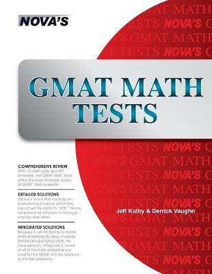 GMAT Math Tests: 13 Full-Length GMAT Math Tests! (Paperback)