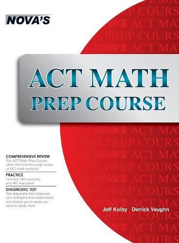 ACT Math Prep Course (Hardback)