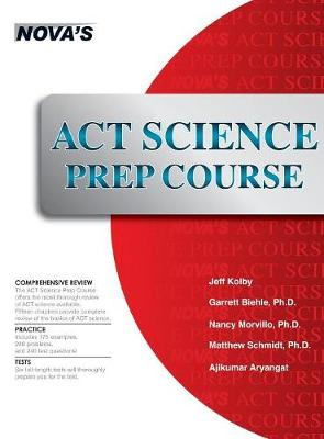 ACT Science Prep Course: 6 Full-Length Tests! (Hardback)