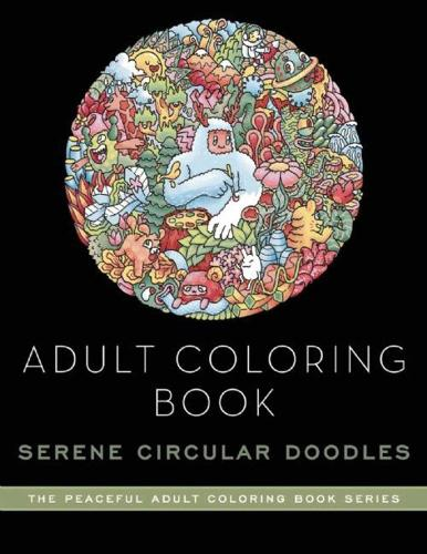 Adult Coloring Book: Doodle Worlds: Adult Coloring Book (Paperback)