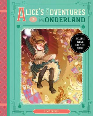 Alice's Adventures in Wonderland: Includes Book & 500 Piece Puzzle - Classic Book and Puzzle Set Series (Paperback)