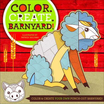 Color. Create. Kids: Zookeeper: Zookeeper (Paperback)