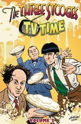The Three Stooges Vol 2 TPB: TV Time (Paperback)