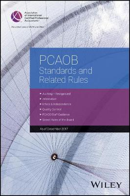 PCAOB Standards and Related Rules: 2017 - AICPA (Paperback)
