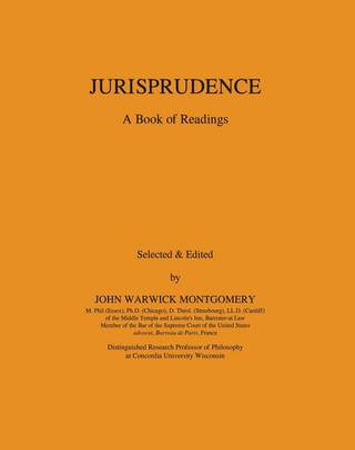 Jurisprudence: A Book of Readings (Paperback)