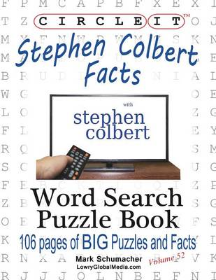 Circle It, Stephen Colbert Facts, Word Search, Puzzle Book (Paperback)