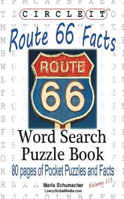 Circle It, U.S. Route 66 Facts, Word Search, Puzzle Book (Paperback)