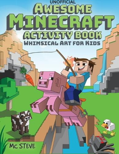 Awesome Minecraft Activity Book: Whimsical Art for Kids (Paperback)