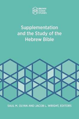 Supplementation and the Study of the Hebrew Bible (Paperback)