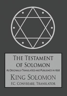 The Testament of Solomon (Hardback)