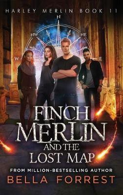 Harley Merlin 11: Finch Merlin and the Lost Map (Hardback)