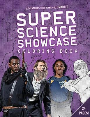Super Science Showcase: Coloring Book - Super Science Showcase Activity 1 (Paperback)