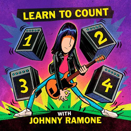 Learn To Count 1-2-3-4 With Johnny Ramone (Board book)
