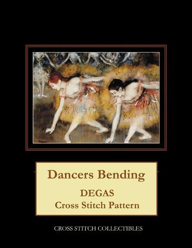 Dancers Bending: Degas cross stitch pattern (Paperback)