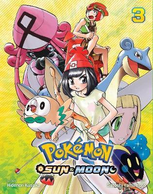 Pokemon: Sun & Moon, Vol. 3 - Pokemon 3 (Paperback)