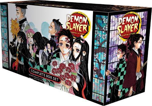Demon Slayer Complete Box Set: Includes volumes 1-23 with premium - Demon Slayer: Kimetsu no Yaiba (Paperback)