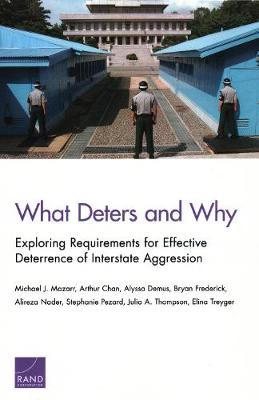 What Deters and Why: Exploring Requirements for Effective Deterrence of Interstate Aggression (Paperback)