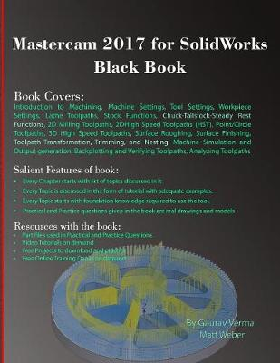 Mastercam 2017 for Solidworks Black Book (Paperback)