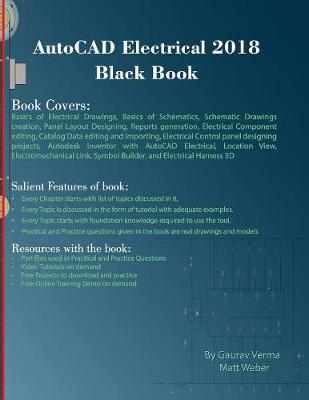 AutoCAD Electrical 2018 Black Book (Paperback)