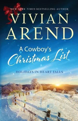 A Cowboy's Christmas List - Holidays in Heart Falls 4 (Paperback)
