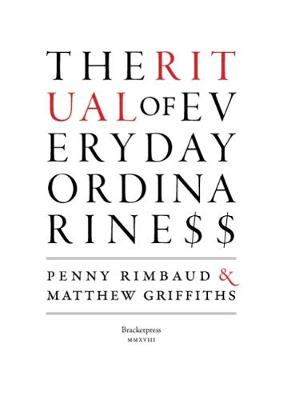 The RITUAL of Everyday Ordinariness 2018 (Paperback)