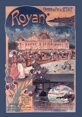 Carnet Blanc, Royan Chemins de Fer - Bnf Monuments (Paperback)