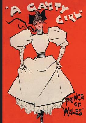 Carnet Blanc, Affiche Gaiety Girl - Bnf Affiches (Paperback)