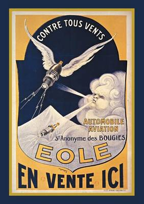 Carnet Blanc, Affiche Bougies Eole Automobile - Bnf Affiches (Paperback)