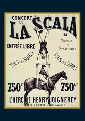 "Carnet Blanc, Affiche La Scala ""l'hercule"" - Bnf Affiches (Paperback)"