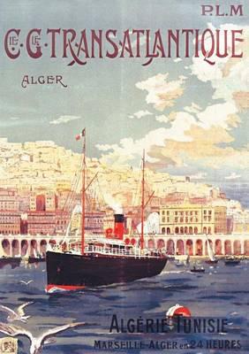 Carnet Blanc, Affiche Transatlantique Alger - Bnf Affiches (Paperback)