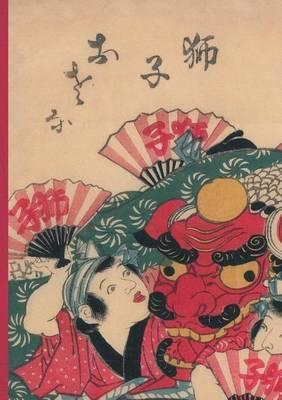 Carnet Blanc, Estampe Danseurs Au Dragon, Japon 19e - Bnf Estampes (Paperback)