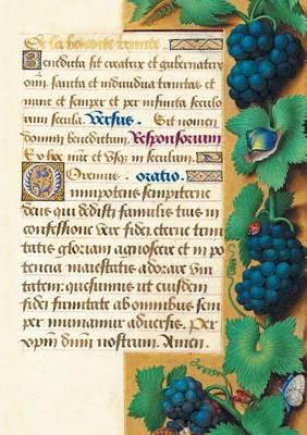 Carnet Blanc, Heures Anne de Bretagne, Raisin - Bnf Enluminures (Paperback)