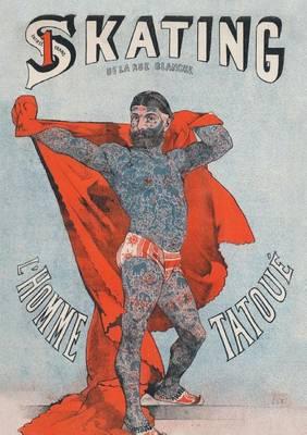 Carnet Blanc, Affiche l'Homme Tatou� - Bnf Affiches (Paperback)