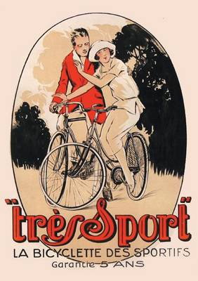 "Carnet Blanc, Affiche ""tr�s Sport"" Bicyclette - Bnf Affiches (Paperback)"
