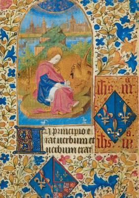 Carnet Blanc, Heures Jeanne de France, Phoenix - Bnf Enluminures (Paperback)