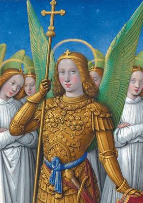 Carnet Blanc, Heures Anne de Bretagne, Ange En Armure - Bnf Enluminures (Paperback)