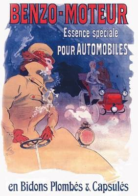 Carnet Blanc, Affiche Benzo Essence Automobiles - Bnf Affiches (Paperback)