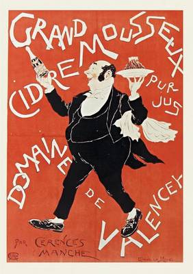 Carnet Blanc, Affiche Cidre Valencey - Bnf Affiches (Paperback)