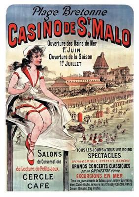 Carnet Blanc, Affiche Casino Saint-Malo - Bnf Affiches (Paperback)