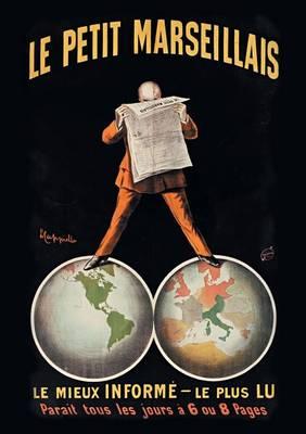 Carnet Blanc, Affiche Journal Le Petit Marseillais - Bnf Affiches (Paperback)