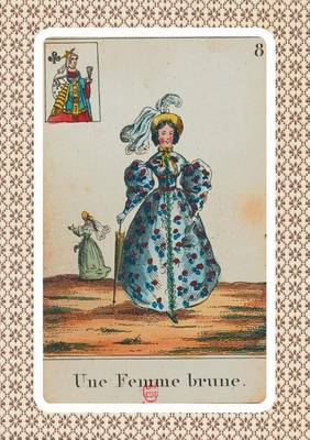 Carnet Blanc, Cartomancie, Femme Brune, 18e Si cle - Bnf Cartes a Jouer (Paperback)